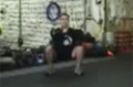 Taming The Bulldog, Intermediate Workout Step 1: One-Arm Front Squat