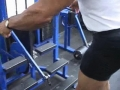 Bill Grant's Old School Bodybuilding Series For Legs: Toe Raises With Stretching First Set