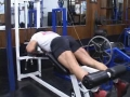 Bill Grant's Old School Bodybuilding Series For Legs: Lying Leg Curls First Set