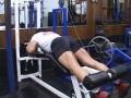 Bill Grant's Old School Bodybuilding Series For Legs: Lying Leg Curls First Set