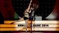 Saturday Night ASF Entertainment, Pole Dancer Samantha Star