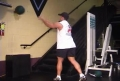 Fun With Your Medicine Balls: Chest Pass Against Wall