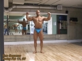 The Chub To Champ Video Transformation - Mitch's Posing Routine