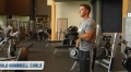 Arnold Dumbbell Curls