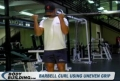Barbell Curl Using Uneven Grip