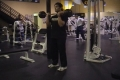 Bicep Curl Barbell Throws