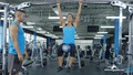 Exercise Guides: Hanging Knee Raise with Medicine Ball (F)