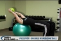 Pullover: On Exercise Ball & Holding A Medicine Ball