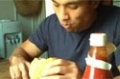 Train Insane With Kane, Bonus Footage: Whopper w/ Assorted Condiments