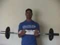 Static Barbell Hold With Towel