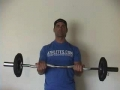 Static Barbell Hold