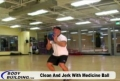 Training Program For Health And Physical Improvement: Clean & Jerk With Medicine Ball
