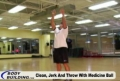 Training Program For Health And Physical Improvement: Clean, Jerk & Throw With Medicine Ball