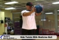Training Program For Health And Physical Improvement: Side Twists With Ball
