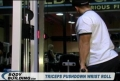 Triceps Pushdown With Wrist Roll