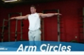 Exercise Guides: Arm Circles, Male/Short Clip