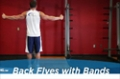 Exercise Guides: Back Flyes - With Bands, Male/Short Clip