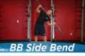 Exercise Guides: Barbell Side Bend, Male/Short Clip