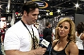 2009 Olympia Expo: Ava Cowan At The Gaspari Booth