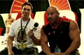 2009 Olympia Expo: Stan 'White Rhino' Efferding Backing Up His Numbers