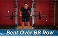 Exercise Guides: Bent Over Barbell Row, Male/Short Clip