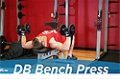 Exercise Guides: Dumbbell Bench Press, Male/Short Clip