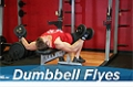 Exercise Guides: Dumbbell Flyes, Male/Short Clip