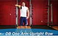 Exercise Guides: Dumbbell One Arm Upright Row, Male/Short Clip