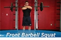 Exercise Guides: Front Barbell Squat, Male/Short Clip