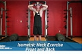 Exercise Guides: Isometric Neck Exercise - Front And Back, Male/Short Clip