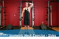 Exercise Guides: Isometric Neck Exercise - Sides, Male/Short Clip