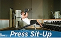 Exercise Guides: Press Sit-Up, Male/Short Clip