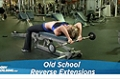 Exercise Guides: Old School Reverse Extensions, Male/Short Clip
