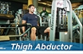 Exercise Guides: Thigh Abductor, Male/Short Clip