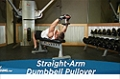 Exercise Guides: Straight-Arm Dumbbell Pullover, Male/Short Clip