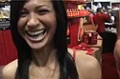 2009 Arnold Classic: Monique Minton At The BSN Booth