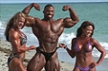 2009 NPC Nationals: Beach Shoot with Cedric, Kris, and Jessica