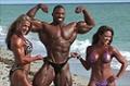 2009 NPC Nationals: Beach Shoot with Cedric, Kris, and Jessica