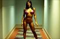 2009 NPC Team Universe: Missy Coles' Bikini Posing Routine
