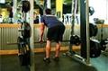 Exercise Guides: Smith Machine Stiff Legged Deadlift, Male/Long Clip