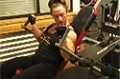 Heather Armbrust's Arm Training: Seated Bicep Machine