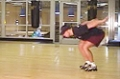 Ski Training: Standing Long Jump Land And Hold