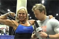 Rob Riches At The 09 Iron Man Expo: David Kinley From The Fittest Couple + Lauren Powers