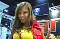 Rob Riches At The 09 Iron Man Expo: Fitness Model Timea Majorova