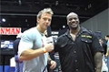 Rob Riches At The 09 Iron Man Expo: IFBB Pro Chris Cormier