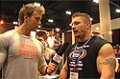 Rob Riches At The 09 Iron Man Expo: The Gaspari Nutrition Booth With Flex Lewis