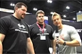 Rob Riches At The 09 Iron Man Expo: The GNC Booth With Wade And Cole Gillingham