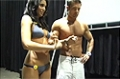 Rob Riches At The 09 Iron Man Expo: Winners Of The Fittest Couple Competition