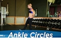 Exercise Guides: Ankle Circles, Female/Short Clip
