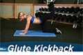 Exercise Guides: Glute Kickback, Female/Short Clip